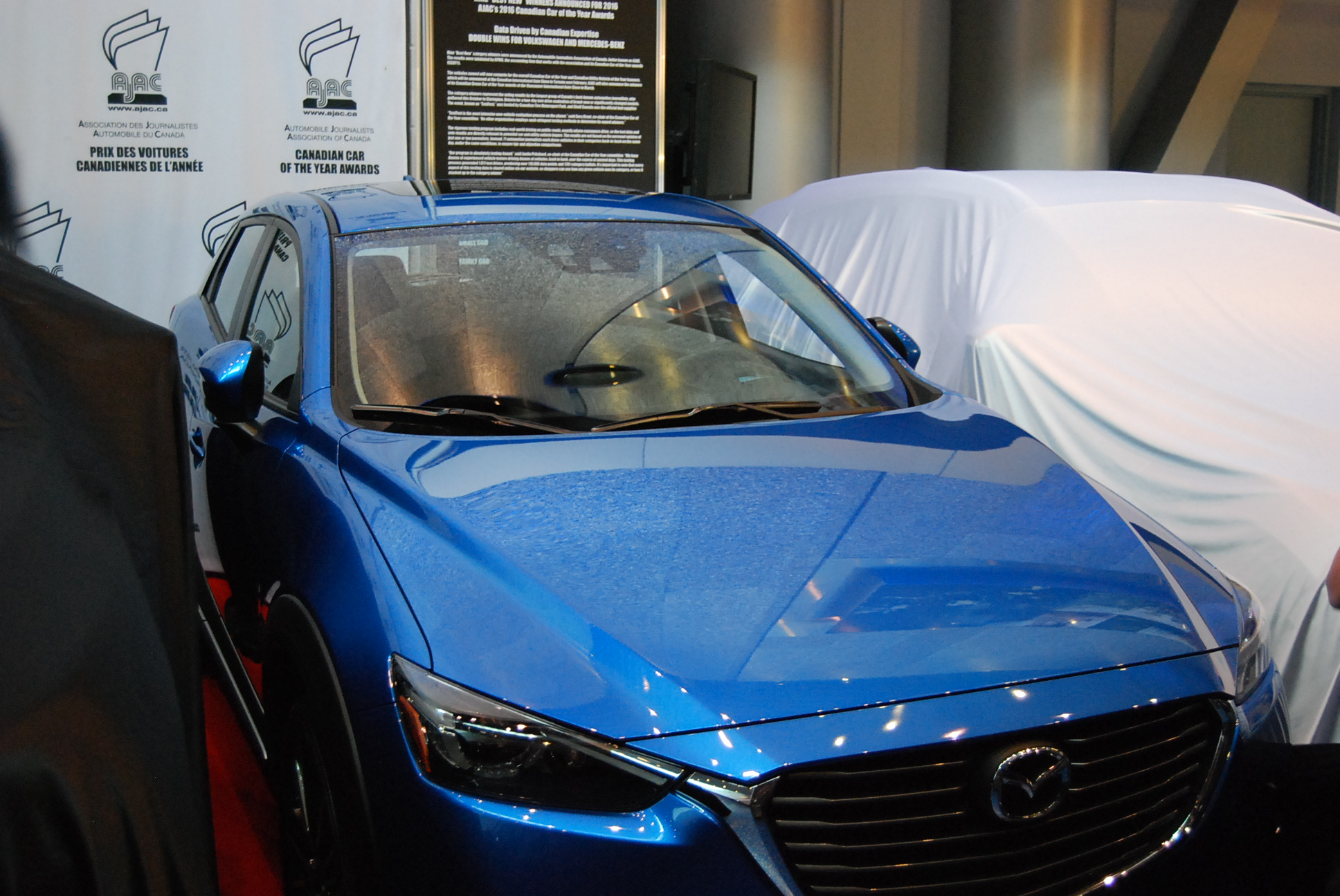 Canadian Green Utility Vehicle of the Year - 2016 Mazda CX-3
